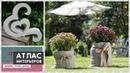 Поделки из цемента своими руками. Идеи для дачи и сада кашпо, декор и скульптуры из бетона
