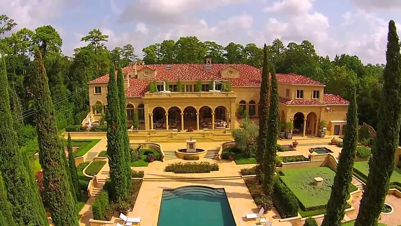 Neoclassical Chateau in Houston, Texas