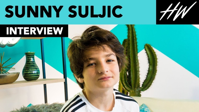 Mid90s Sunny Suljic reveals Jonah Hill's KICKFLIP on set and Facetimes with Jonah Hill Hollywire