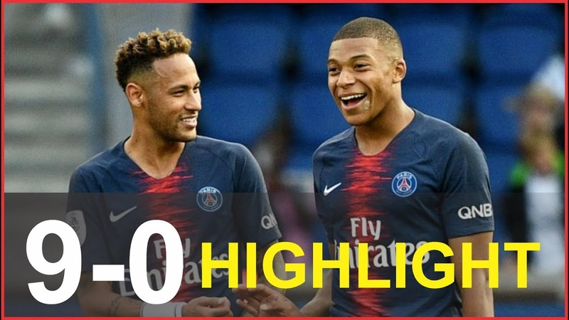 PSG vs Guingamp 9-0 Highlights All Goals 19012019