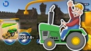 Tractor Farming Working SIM - Gameplay iOS. Simulator 2019. Realistic Vehicles and Machineries