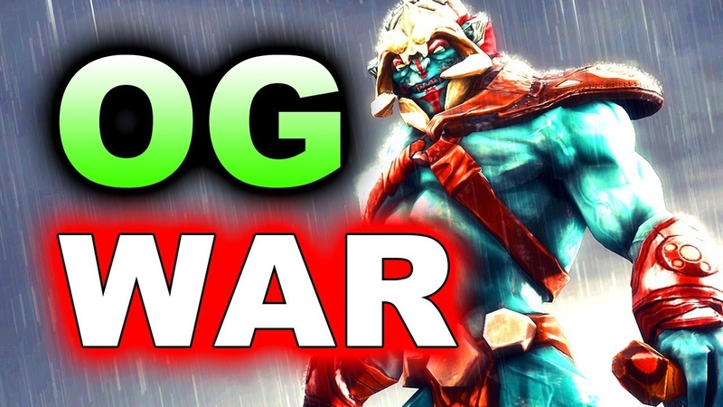 OG vs WAR - HUSKARED!. 17 MIN GG! - THE INTERNATIONAL 2018 DOTA 2