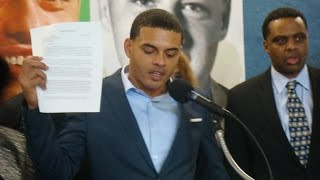 Clinton Son Danney Williams at National Press Club