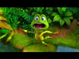 Первый русский трейлер мультфильма Лягушонок Риббит