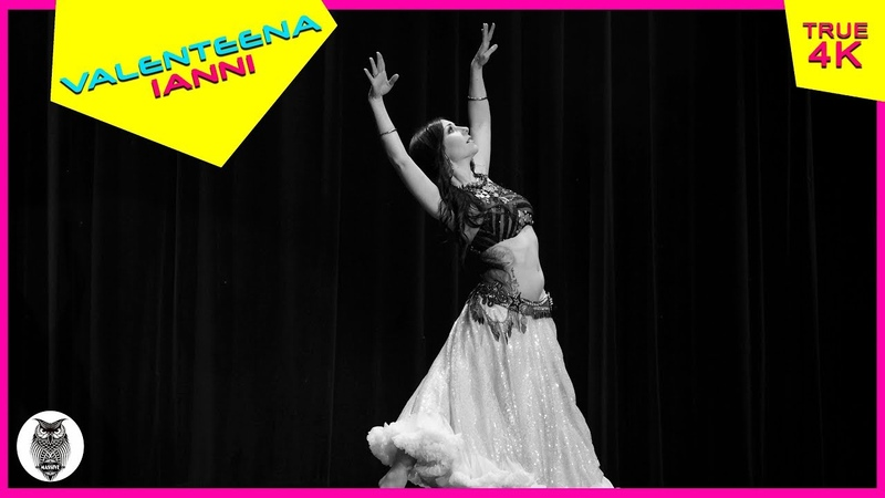 Valenteena Ianni tribal fusion dancer, at The Massive Spectacular! [True 4K]