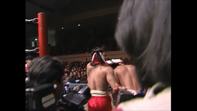 1997.11.27 - Jun Akiyama/Mitsuharu Misawa vs. Hayabusa/Jinsei Shinzaki