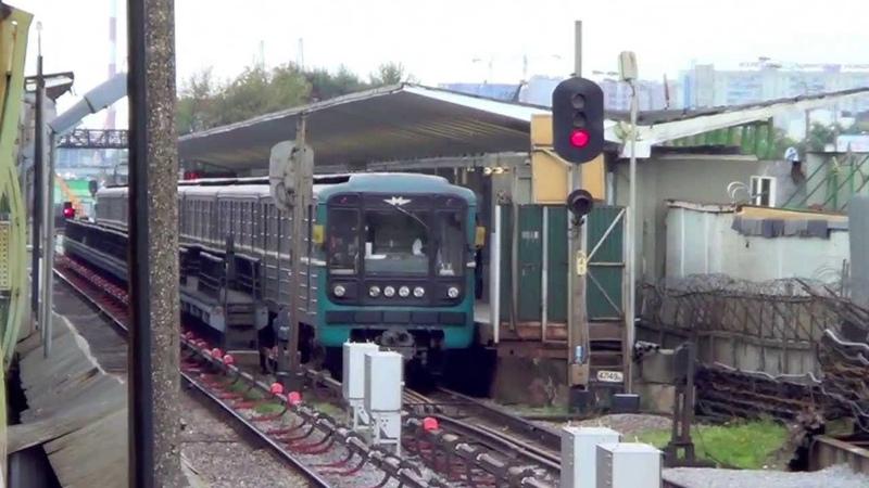 Электропоезда 81-717/714 и Еж-3 (Ем-508т)
