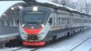 На новом месте! Электропоезд ЭД4М-0500 ЦППК экспресс Москва Белорусская - Одинцово