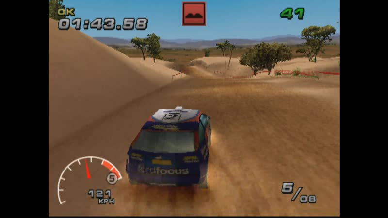 WRC FIA WORLD RALLY CHAMPIONSHIP ARCADE SUPER SPECIAL REVERSE EASY FORD FOCUS WRC PS1 2002