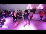 Terry SalsAlianza &amp Nelly - social dancing @ SWOB 2018