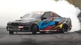 800hp1000Nm BMW E39 M5 Single Turbo V8 Tires Slayer by Geos Drift Team!