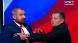 Новости на Россия 24 Во время дебатов Сурайкин попытался напасть на Шевченко