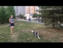 Прогулка в парке и соревнования по фрисби