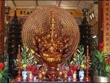 185 Вьетнам Нячанг прогулки по городу Пагода Лонг Сон или Шон Vietnam Nha Trang city Long Son Pagoda