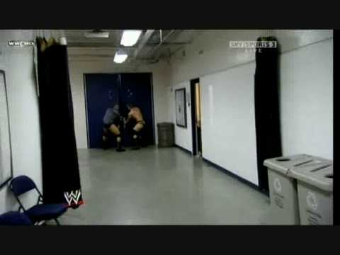 WWE Triple H chases Randy Orton to the tune of Mr. Hill.