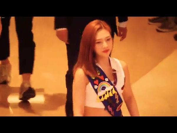 180818 레드벨벳 Red Velvet 팬사인회 입장 첫인사 조이 Joy Focus 4K 직캠 Fancam 고양스타필드팬사