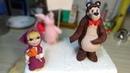 Фигурки Маша и Медведь / Figures Masha and the bear - Я - ТОРТодел!
