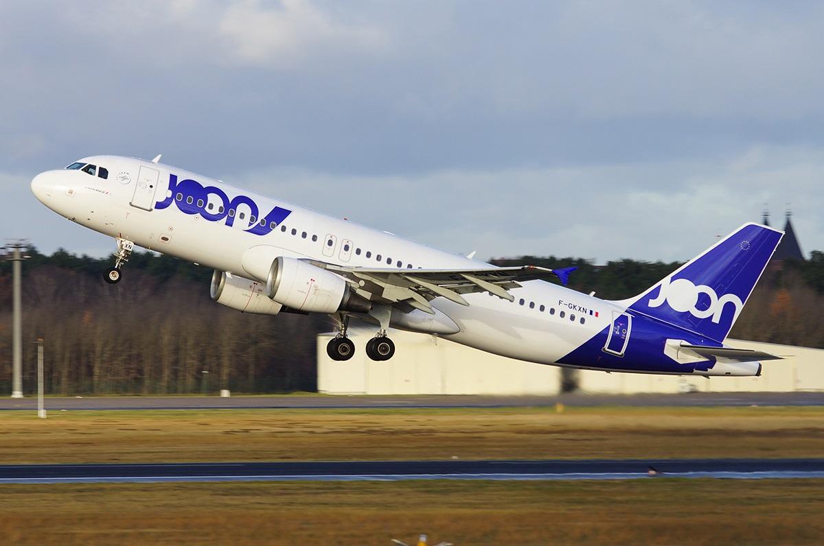 Взлет Airbus A320