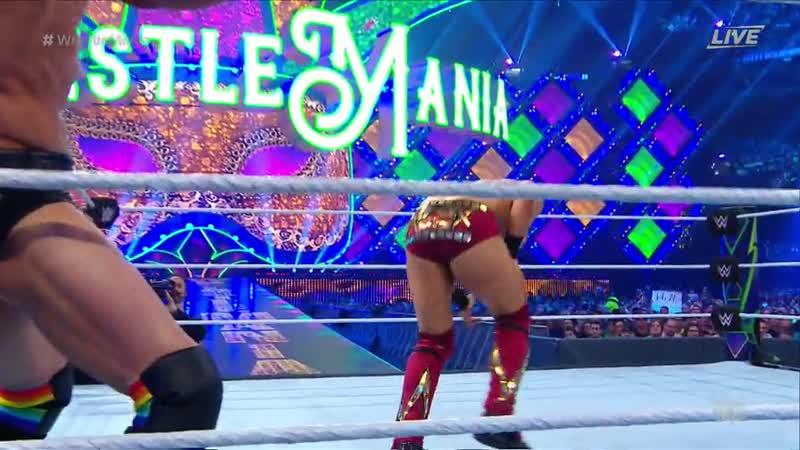 WH | Intercontinental Vs. The Miz and Finn Balor WrestleMania 34 08.04.18