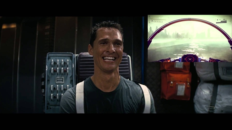 Matthew McConaugheys No Mans Sky Trailer Reaction | Parody
