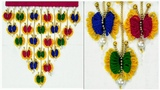 DIY Woolen Butterfly Wall Hanging Butterfly Making Out Of Wool using Comb
