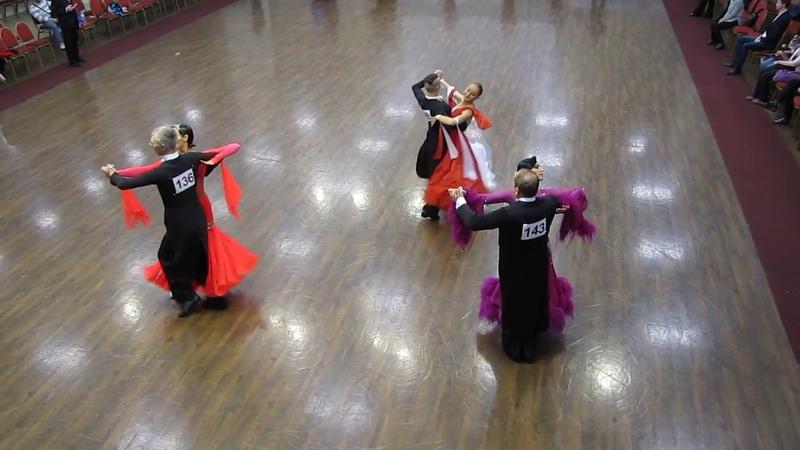 Танго (2) (Взрослые Молодежь D класс) 20.10.2018 Рейтинг-турнир Санкт-Петербурга (6 тур)