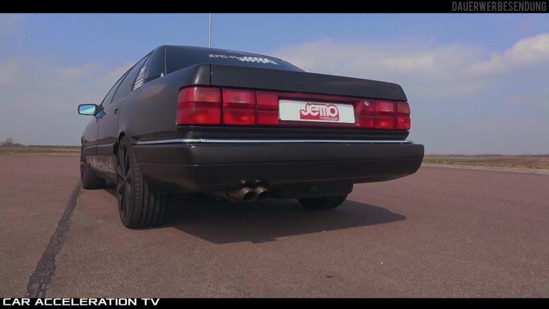 700HP Audi 200 2.2 20V Turbo Acceleration SOUND