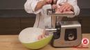 Рецепт: пожарские котлеты с помощью мясорубки Moulinex ME740H30
