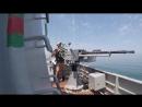 «Кубок моря-2018»: этап артиллерийской стрельбы по плавающим мишеням