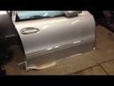 Как снять молдинг двери Мерседес W211