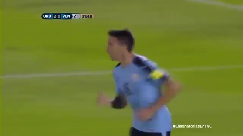 Uruguay vs Venezuela Eliminatorias Rusia 2018. Partido Completo. [VDownloader]