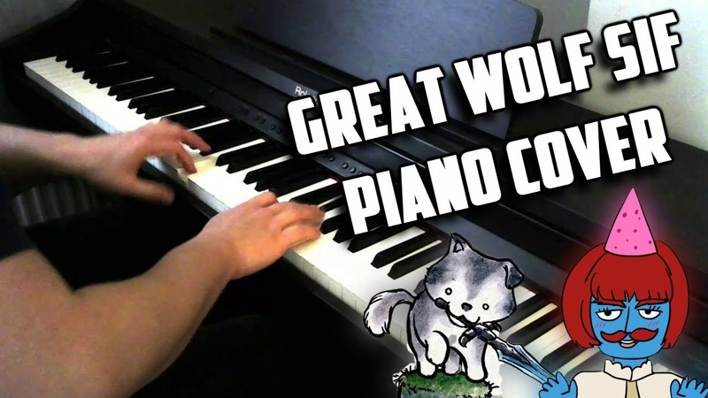 Great Grey Wolf Sif Dark Souls Piano Cover