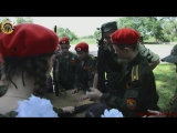 Молодая Гвардия Донбасса на экскурсии в одной из воинских частей, при содействии Отдела военного комиссариата и военнослужащих