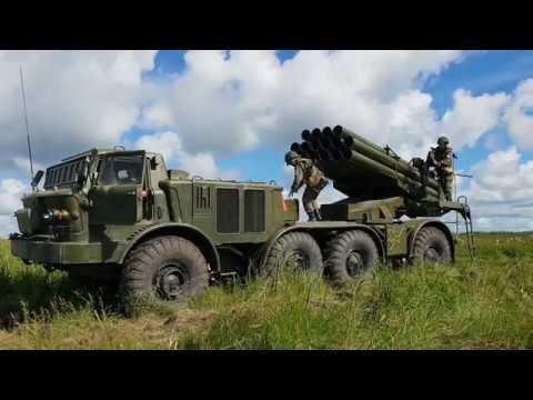 Дубль сибирских артиллеристов! Ураган и Мста на Юргинском полигоне
