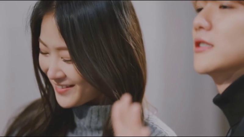 [rus sub] Soyou Baekhyun [소유 x 백현] - Rain