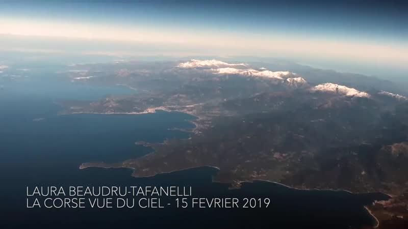 Corse vue du ciel Côte Sud-Ouest