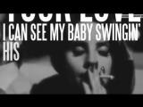 Lana Del Rey West Coast (Radio Mix) Lyric Video