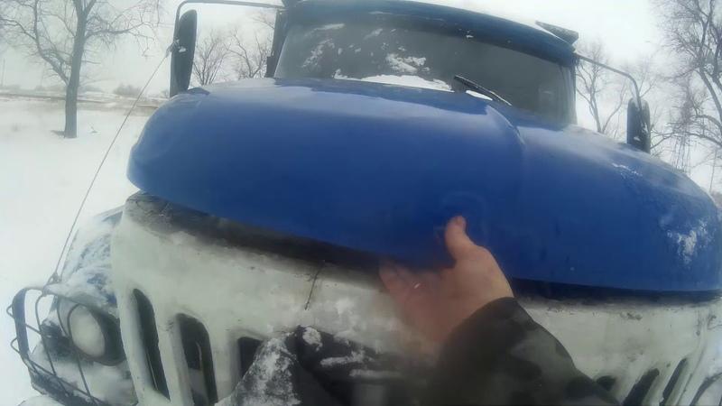 Застрял в снегу Цепи не решают Пробный выезд после замены форс