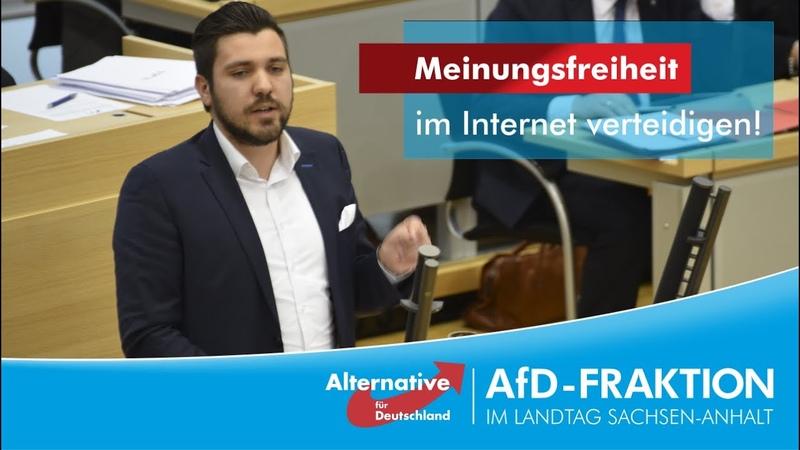 Tobias Rausch Meinungsfreiheit im Internet verteidigen!