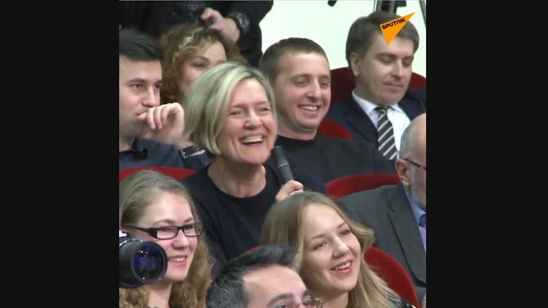 """ARD-Journalistin """"Unser Minister Lawrow…"""" – """"Werd' noch der Okkupation beschuldigt"""""""