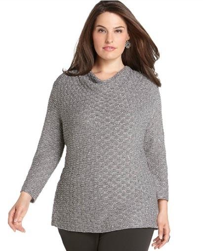 Вязанные свитера: модные тенденции
