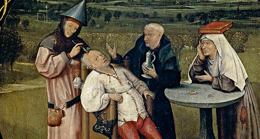Лекарь в средние века