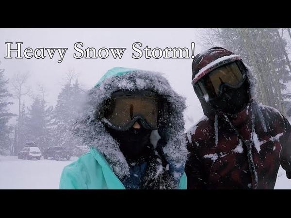 Heavy Snow Storm in Arizona! | SeanElaine's Vlog