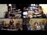Даша и Настя Назаровы - Heavydirtysoul - Twenty One Pilots (Drum Cover)