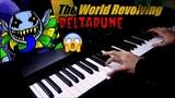 LOW TONE AKTASHMAK - PIANO COVER ORGAN SOUND AND STRINGS DELTARUNE OST - THE WORLD REVOLVING