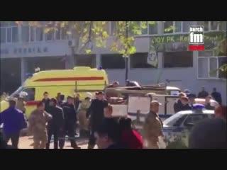В Керчи прогремел взрыв в колледже. По предварительным данным, 10 чел. погибли, еще около 50 пострадали. Здание газифицировано