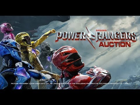 Power Rangers Auction I Original Props and Costumes