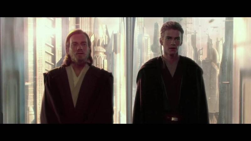 Звёздные войны Эпизод 2 Атака клонов отрывок Встреча Энакина и Падме
