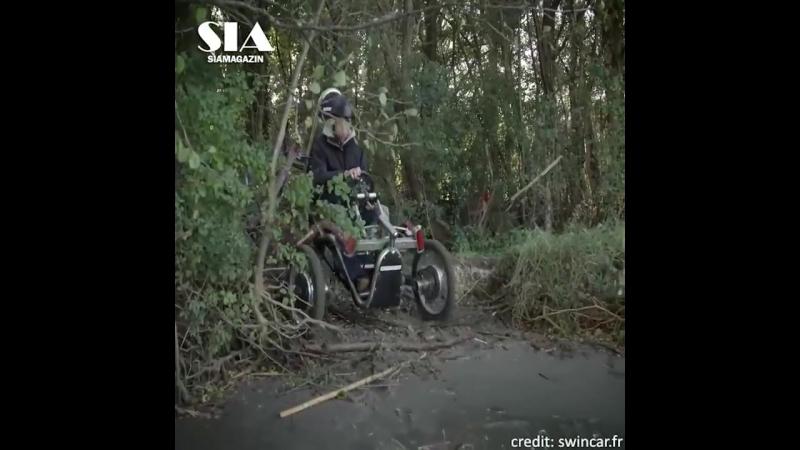 Sia Magazin All Terrain Spider Electric Car- E-Fahrrad-