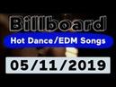 Billboard Top 50 Hot Dance/Electronic/EDM Songs (May 11, 2019)